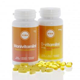 D Vitamiini Määrä